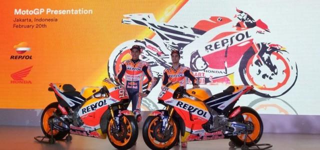 Тимът Repsol Honda