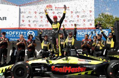 Indycar 2018 Round 01: St. Petersburg, Florida