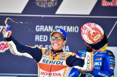 Маркес триумфира с Honda в Херес