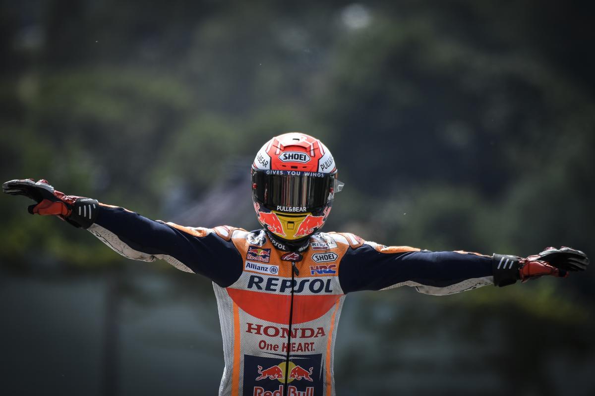 Маркес отново е крал на пистата