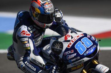 Мартин в Ассен, троен подиум за Honda