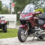 Honda TRX 250 and GoldWing