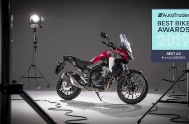 Honda CB500X collects top honours in A2 bike category at Auto Trader Best Bike Awards 2019