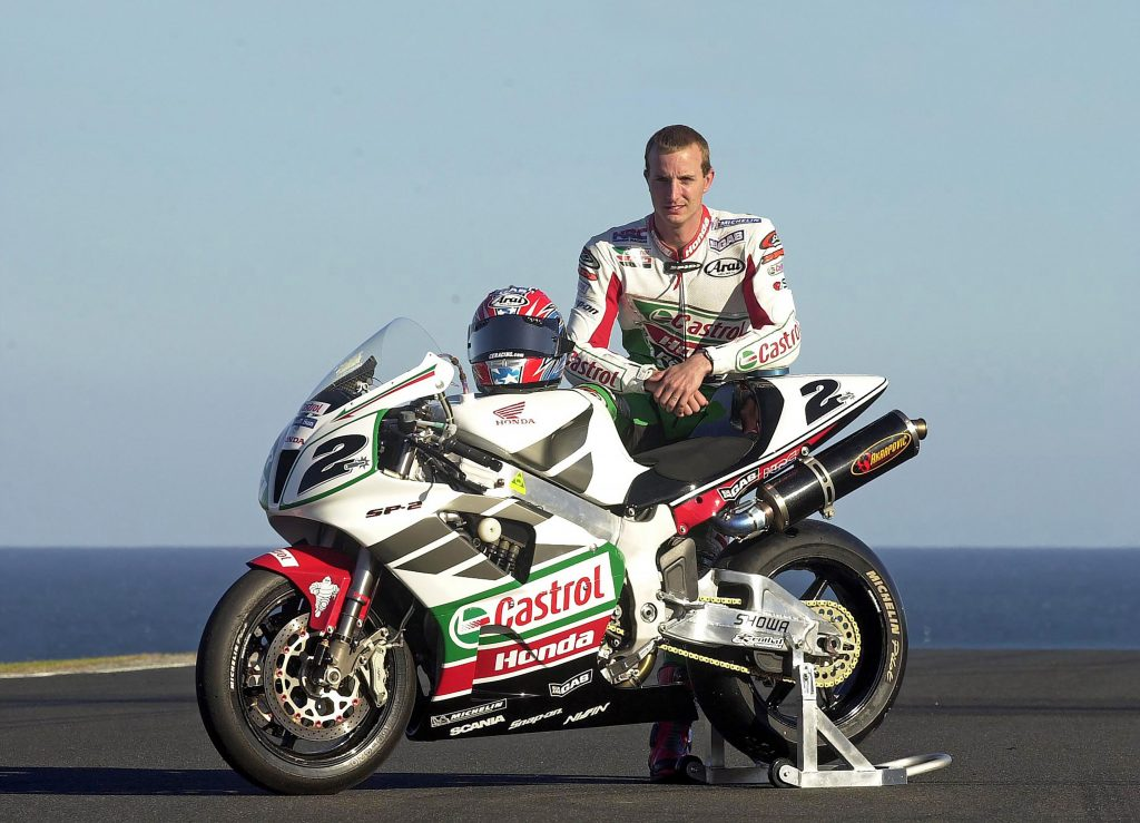 Honda RC51 и Едуардс