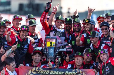 Honda's journey to the top at the toughest rally on earth