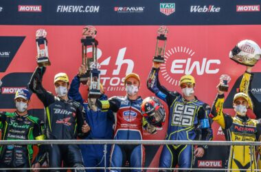 National Motos take incredible victory in STK at the 24h Motos at Le Mans on the CBR1000RR-R Fireblade SP