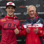 Нойс и Гайсер - среща между две легенди на Honda